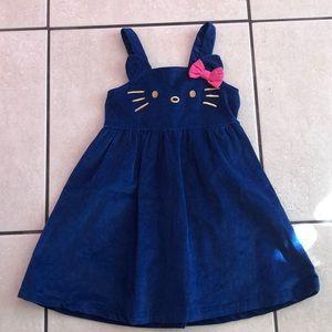 Hello Kitty by Sanrio corduroy dress
